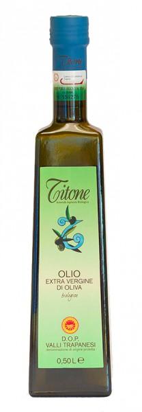 Valli Trapanesi DOP Olio extra vergine d'oliva BIO 0.5 L - Titone
